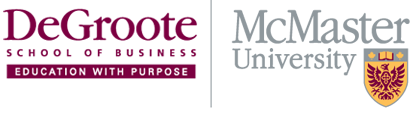 Michael G. DeGroote School of Business Logo